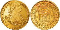 World Coins - Coin, Peru, Charles IV, 8 Escudos, 1796, Lima, , Gold, KM:101