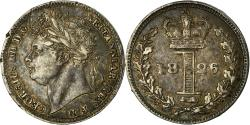 World Coins - Coin, Great Britain, George IV, Penny, 1826, , Silver, KM:683