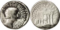 Ancient Coins - Coin, Octavian, Denarius, 36 BC, Traveling Mint, VF(30-35), Silver, RRC 540/2