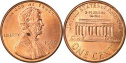Us Coins - Coin, United States, Lincoln Cent, Cent, 1996, U.S. Mint, Denver,