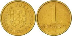 World Coins - Portugal, Escudo, 1983, , Nickel-brass, KM:614