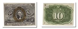 Us Coins - United States, 10 Cents, 1863, KM #3232, 1863-03-03, AU(55-58)