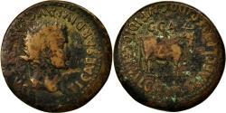 Ancient Coins - Coin, Spain, As, Caesaraugusta, VF(20-25), Copper