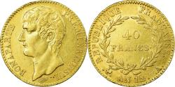 World Coins - Coin, France, Napoléon I, 40 Francs, An 12 (1804), Paris, , Gold