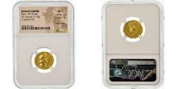 Coin, Nero, Aureus, 64-65, Rome, graded, NGC, Ch F, , Gold, RIC:52