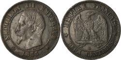 World Coins - Coin, France, Napoleon III, 2 Centimes, 1855, Bordeaux,