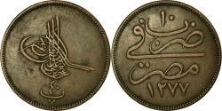 World Coins - Coin, Egypt, Abdul Aziz, 40 Para, Qirsh, 1869/AH1277, Misr, , Bronze