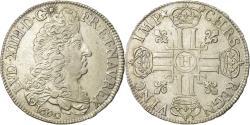 World Coins - Coin, France, Louis XIV, 1/2 Écu aux 8 L, 1/2 Ecu, 1690, La Rochelle