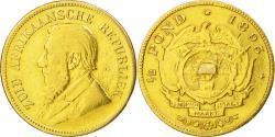 World Coins - Coin, South Africa, Pond, Een, 1895, Pretoria, , Gold, KM:10.2