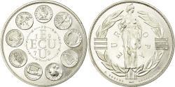 World Coins - France, Medal, Ecu Euro, EUROPA, 1979, Rodier, , Silver