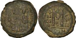 Ancient Coins - Coin, Justin II, Follis, 573-574, Constantinople, , Copper, Sear:360