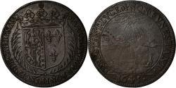 World Coins - France, Token, Louis XV, Savoie, Marie de Bourbon, Princesse de Carignan, 1645