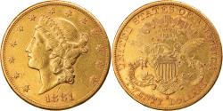 Us Coins - Coin, United States, Liberty Head, $20, Double Eagle, 1881, Philadelphia
