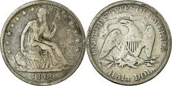 Us Coins - Coin, United States, Seated Liberty Half Dollar, Half Dollar, 1869, U.S. Mint