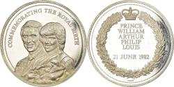 World Coins - United Kingdom , Medal, Prince William, Commemorating the Royal Birth, 1982