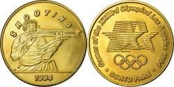 Us Coins - United States of America, Medal, Jeux Olympiques de Los Angeles, Shooting, 1984