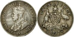 World Coins - Coin, Australia, George V, Threepence, 1912, , Silver, KM:24