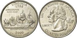 Us Coins - Coin, United States, Virginia, Quarter, 2000, U.S. Mint, Denver,