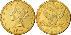 Us Coins - Coin, United States, Coronet Head, $10, 1894, New Orleans,