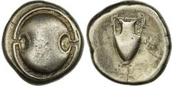 Ancient Coins - Coin, Boeotia, Thebes, Stater, 379-368 BC, , Silver, HGC:4-1331