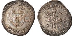 World Coins - Coin, France, Henri II, Douzain aux croissants, 1550, Grenoble,