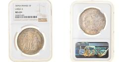 World Coins - Coin, France, Hercule, 5 Francs, 1875, Paris, NGC, MS63+, , Silver