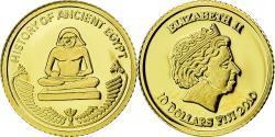 World Coins - Coin, Fiji, 10 Dollars, 2010, Scribe, , Gold