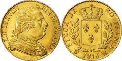 World Coins - Coin, France, Louis XVIII, 20 Francs, 1815, London, AU(55-58), Gold, KM:1
