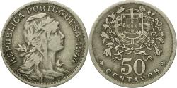 World Coins - Coin, Portugal, 50 Centavos, 1944, , Copper-nickel, KM:577