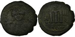 Ancient Coins - Coin, Maurice Tiberius, Follis, 584, Antioch, , Copper, Sear:589-590