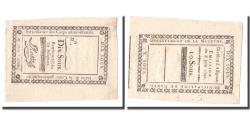 World Coins - France, 10 Sous, Undated (1791-92), NANCY, AU(50-53)