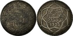 World Coins - Coin, Morocco, 'Abd al-Hafiz, Rial, 10 Dirhams, 1911, bi-Bariz, Paris