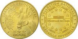 World Coins - France, Token, Touristic token, Douai-la-Fontaine - Zoo - la Girafe, 2005, MDP