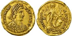 Coin, Honorius, Solidus, 402-408, Ravenna, Double-strike, , Gold