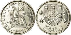 World Coins - Coin, Portugal, 5 Escudos, 1983, , Copper-nickel, KM:591