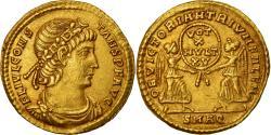 Coin, Constans, Solidus, 337-350, Aquileia, , Gold, RIC:39