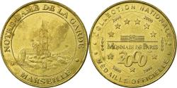 World Coins - France, Token, 13/ Notre-Dame de la Garde, Marseille, 2000, MDP,