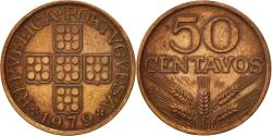 World Coins - Portugal, 50 Centavos, 1979, , Bronze, KM:596