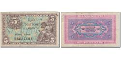 World Coins - Banknote, GERMANY - FEDERAL REPUBLIC, 5 Deutsche Mark, 1948, KM:4a, VF(20-25)