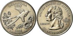 Us Coins - Coin, United States, Oklahoma, Quarter, 2008, U.S. Mint, Philadelphia