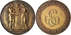 World Coins - France, Medal, Mariage, La Religion les Unit, 1828, Depaulis, , Silver