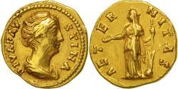 Faustina I, Aureus, Rome, , Gold, RIC:349a