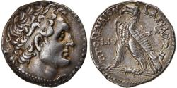 Ancient Coins - Coin, Egypt, Ptolemaic Kingdom, Ptolemy VI, Tetradrachm, 163-162 BC, Salamis