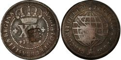 World Coins - Coin, Brazil, 80 Reis, 1809, , Copper, KM:290.1