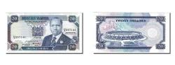 World Coins - Kenya, 20 Shillings, 1991, KM #25d, 1991-07-01, UNC(63), H3