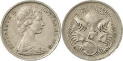 World Coins - Coin, Australia, Elizabeth II, 5 Cents, 1968, , Copper-nickel, KM:64