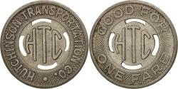 Us Coins - United States, Token, Hutchinson Transportation Company