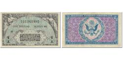Us Coins - Banknote, United States, 1 Dollar, 1951, Undated (1951), KM:M26a, F(12-15)