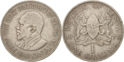 World Coins - Kenya, Shilling, 1971, , Copper-nickel, KM:14