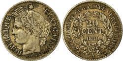 World Coins - Coin, France, Cérès, 20 Centimes, 1850, Paris, , Silver, KM:758.1
